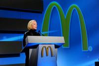 Jan Fields, President of McDonald's USA,  2011 McDonald's USA Awards Banquet