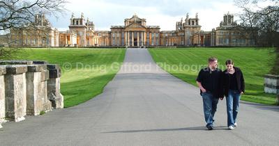 Storry's engagement portraits, Blenheim Palace, England