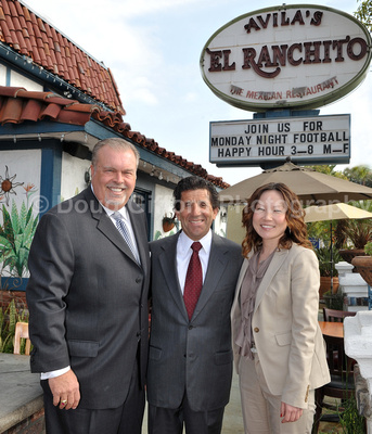 Sunwest Bank and Avila's El Ranchito Mexican Restaurant - Public Relations