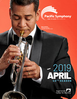 Pacific Symphony 2019 February Program Cover