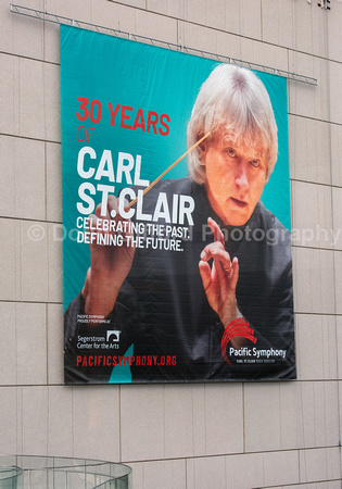 Carl St. Clair, Conductor, Pacific Symphony Banner @ SCFTA 2019