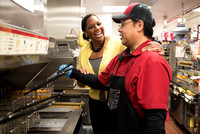 McDonald's - Lifestyle images of owner operator, Nicole Enearu at LA location 022715