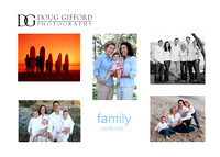 DGP Family Portaiture Promo Card