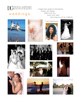 DGP Weddings Promo Cards