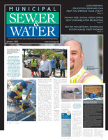 Municipal Sewer & Water Magazine - South Coast Water District / Jan 2013