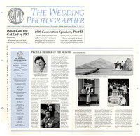 WPI - The Wedding Photographer - Nov 1994