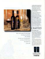 Castelletto Wine ad (Back cover) SouthCoast Wine Magazine May-June 1997