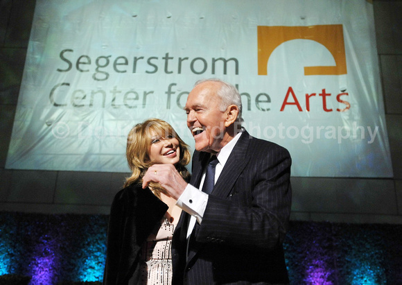 Orange County Performing Arts Center renaming ceremony to Segerstrom Center for the Arts.