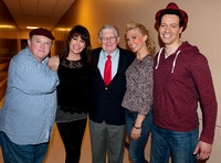 "Frank Gorey and cast of ""I Love Lucy"" backstage at SCFTA 032214"