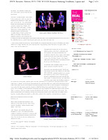 "Broadway World Review- ""Into the Woods"" Reunion SCFTA 110914"